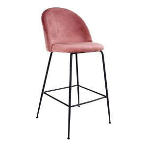 Lausanne Bar Chair, Rosa