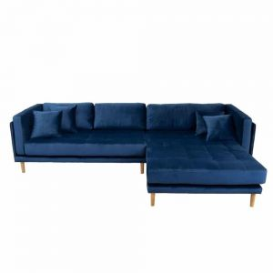 Cali højrevendt chaiselong sofa, Velour